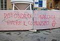 Diffondere l'anarchia vivere il comunismo, Pisa.JPG