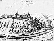 Dillenburg ansicht hessische chronika wilhelm dilich 1605