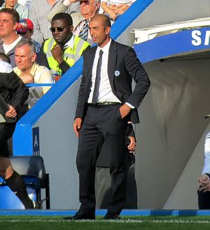 Roberto Di Matteo - Di Matteo as a coach of Chelsea in 2012