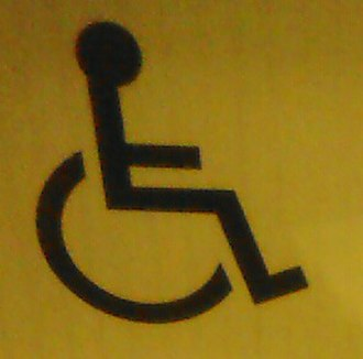 International Symbol of Access - The International Symbol of Access in May 2015.