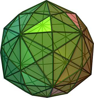 Uniform polyhedron - Image: Disdyakistriacontahe dron
