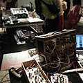 Diving in the deep night of cables, machines, and sounds. Tokyo Festival of Modular 2013, Roppongi.jpg
