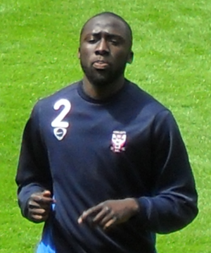 Djoumin Sangaré - Sangaré training with York City in 2009