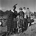 Doedelzakspelers tijdens de Highland Games, een negentiende eeuwse voortzetting , Bestanddeelnr 254-2840.jpg
