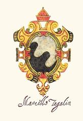 Marcello Tegalianos coat of arms