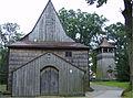 Domaradz, kościół stary tył.jpg