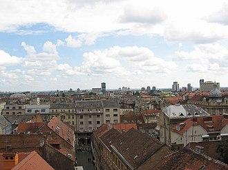 Donji grad, Zagreb - Image: Donji Grad 2
