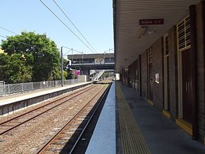 Doomben Railway Station, Queensland, Oct 2012.JPG