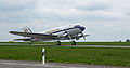 Douglas DC-3A HB-IRJ Breitling Luxembourg airport 01.jpg