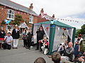 Dove release at Whitwell Diamond Jubilee 2012 street party 4.JPG