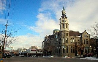 Rock Springs, Wyoming - City Hall, Downtown Rock Springs