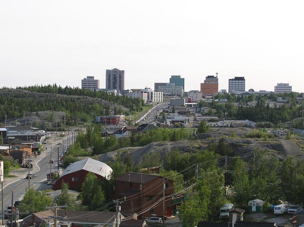 Downtown Yellowknife 2