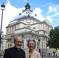 Dr & Mrs Tudor at Westminster Central Hall.jpg