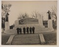 Dr Bell and committee in front of the Bell memorial (HS85-10-33594) original.tif