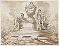 Drawing, Sepulchral Monument for Felice Fontana, Professor of Philosophy, Padua, after 1795 (CH 18125573).jpg