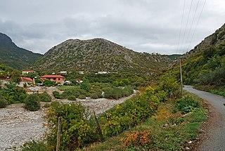 Drisht Village in Shkodër, Albania