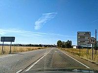 Driving to Portugal (EX-300) near Solana de los Barros (48852212943).jpg