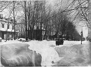 Drummond Street, Montreal - Drummond Street, 1879