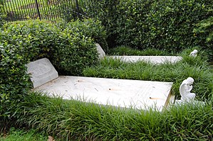 Rose Hill Cemetery (Macon, Georgia) - Graves of Duane Allman and Berry Oakley