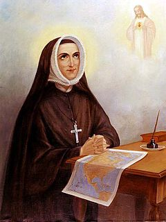 Rose Philippine Duchesne French Catholic Religious Sister and missionary in the United States