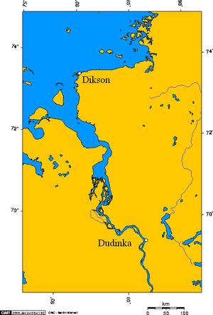 Dikson Island - Dikson and Dudinka