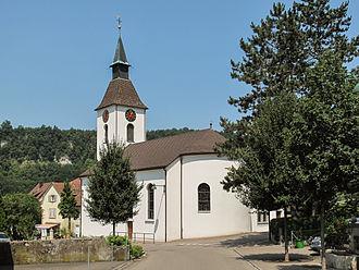 Duggingen - Roman Catholic church of Duggingen