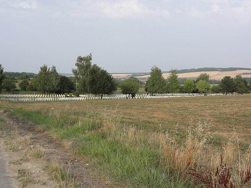 Dugny-sur-Meuse (Meuse) Nécropole nationale Dugny-sur-Meuse