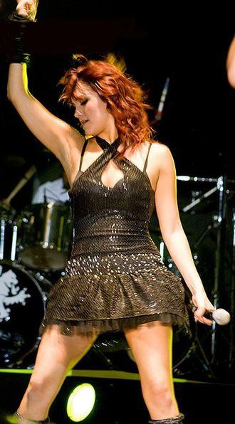 Dulce María - Dulce María performing in 2008
