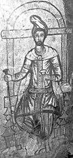 Dura-Europos mithraeum - Sketch of an initiate.jpg