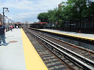 Dyckman Street (IRT Broadway–Seventh Avenue Line) - Station platforms