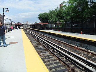 Dyckman Street (IRT Broadway–Seventh Avenue Line) - Station platforms