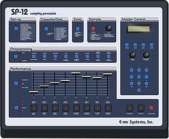 Groovebox - E-mu SP-12 (1986)