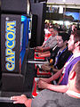 E3 2011 - playing Street Fighter vs Tekken (Capcom).jpg