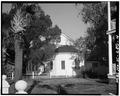 EAST (REAR) ELEVATION - First African Baptist Church (circa 1865), 601 New Street, Beaufort, Beaufort County, SC HABS SC,7-BEAUF,28-4.tif