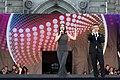 ESC2015 Opening Ceremony Eurovision Village Rathausplatz Wien Kati Bellowitsch Andi Knoll 02.jpg