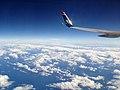 ETOPS flight uses Bermuda on the horizon as waypoint before heading south to St. Martin - panoramio.jpg