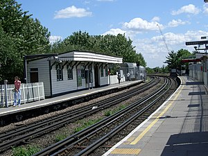 East Acton tube station - Image: East Acton Station.currybet