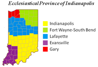 Roman Catholic Archdiocese of Indianapolis - Ecclesiastical Province of Indianapolis