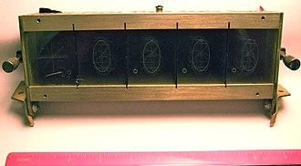 Lightguide display - A lightguide (edge-lit) display.