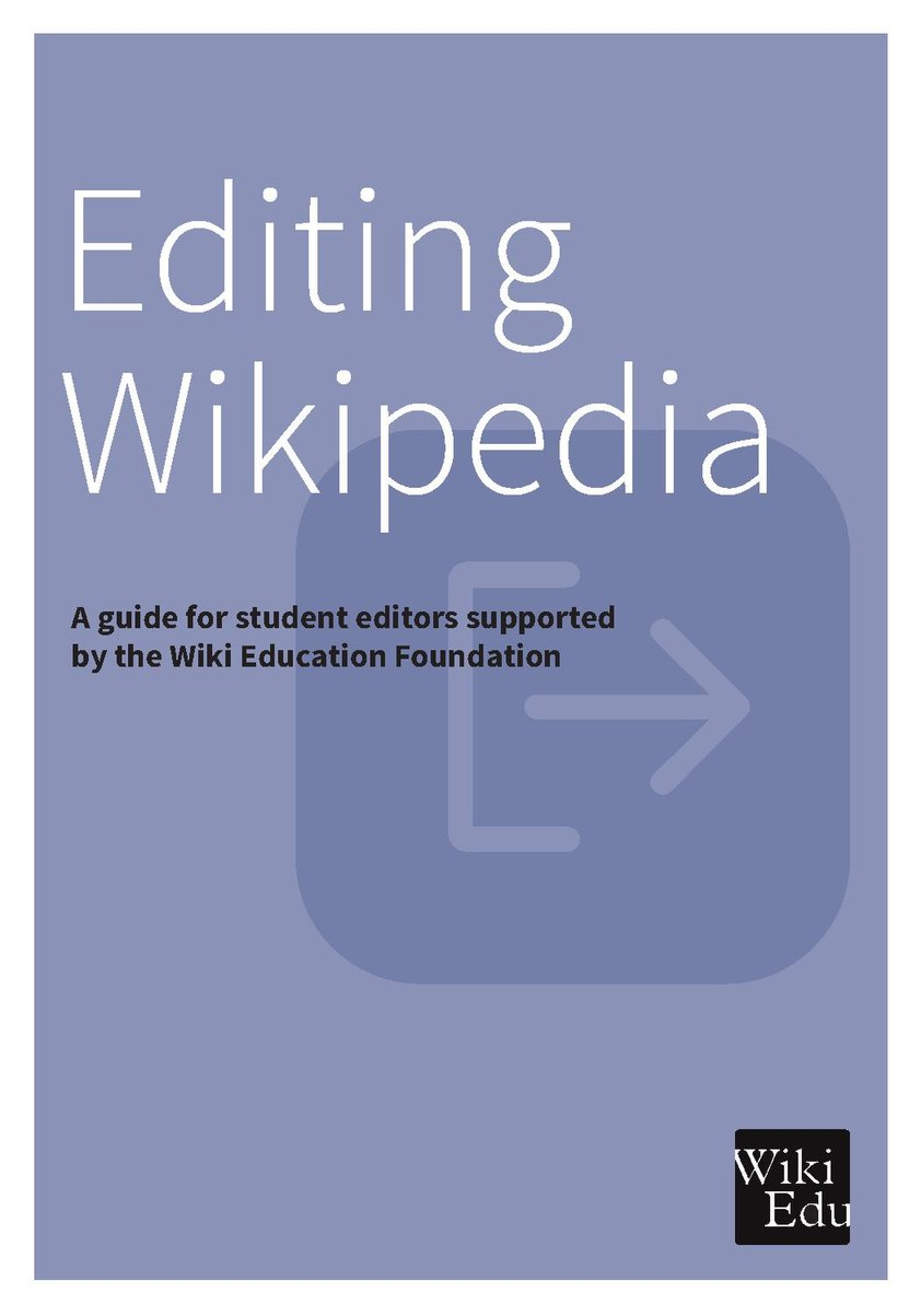 Editing Wikipedia brochure (Wiki Education Foundation) (2016).pdf