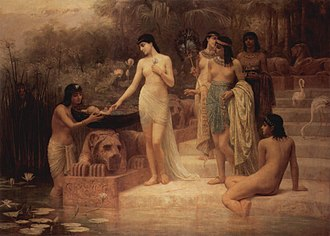 Edwin Long - The Finding of Moses (1886)