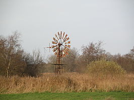 De windmotor in 2008