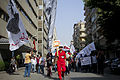 Egyptian workers march to Shura Council on May Day 2013.jpg