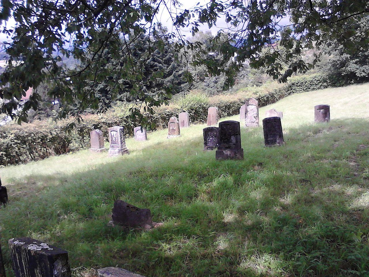 Ehringshausen-Katzenfurt Juedischer Friedhof 20120715.JPG