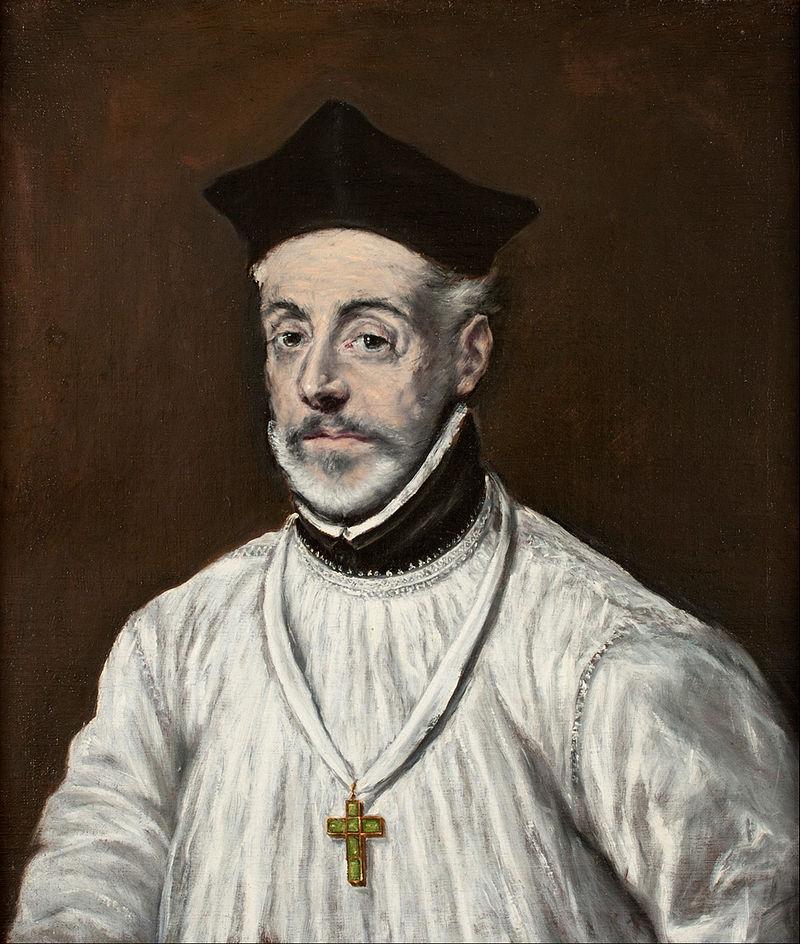 Diego de Covarrubias, retratado por El Greco (ca. 1600)
