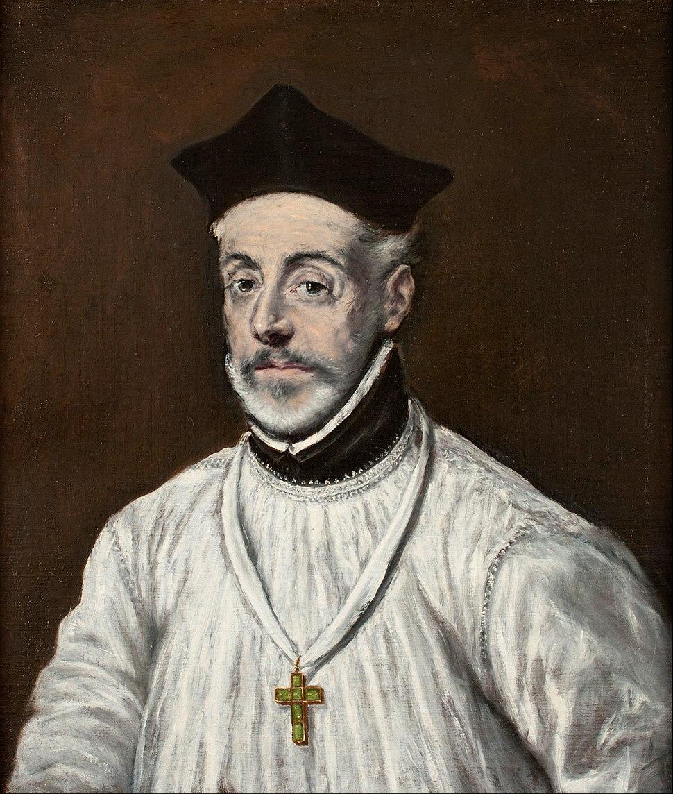 El Greco - Portrait of Diego de Covarrubias y Leiva - Google Art Project
