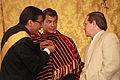 El presidente Correa condecora al Embajador de Bolivia (6887998083).jpg