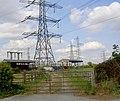 Electromagnetic radiation where^ Not near my caravan. - geograph.org.uk - 553833.jpg