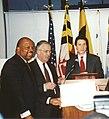 Elijah Cummings, Paul Sarbanes, and Andrew Cuomo.jpg