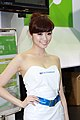 Elitegroup promotional model at Computex 20100605b.jpg